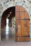 De Deur van de Wijnmakerij van de Vallei van Napa Stock Afbeelding