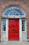 De deur van Dublin Stock Afbeeldingen