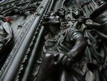 De deur van Duomo Stock Afbeelding