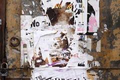 De deur van Grunge royalty-vrije stock afbeelding