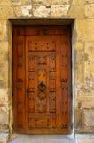 De deur van Grunge royalty-vrije stock foto