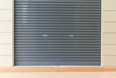 De deur van het blind stock afbeeldingen