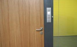 De deur van het bureau Stock Foto's
