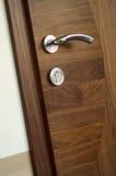 De deur van het bureau stock afbeelding