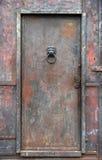 De deur van het ijzer Stock Foto's