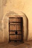 De deur van het kasteel Stock Foto's