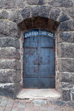 De deur van het Kasteel van Vyborg royalty-vrije stock foto's