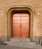De deur van het koper Stock Foto