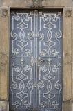 De deur van het metaal Royalty-vrije Stock Foto
