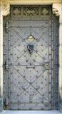 De deur van het metaal Royalty-vrije Stock Afbeeldingen