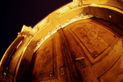 De deur van het museum royalty-vrije stock fotografie