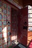 De deur van het Russische paleis Royalty-vrije Stock Foto's