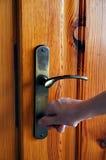 De deur van het sluiten Royalty-vrije Stock Foto's