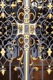 De deur van het smeedijzer Royalty-vrije Stock Afbeelding