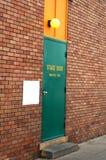 De deur van het stadium Stock Afbeelding