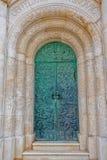 De deur van mausoleumpetrinovic stock foto