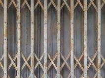 De deur van de metaalopslag Royalty-vrije Stock Foto's