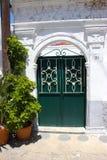 De deur van Rhodosgriekenland Stock Foto