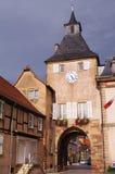 De deur van Rosheim Stock Fotografie