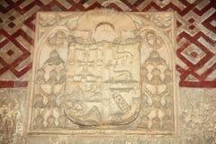De deur van San Miguel (detailmoskee van Cordoba) Royalty-vrije Stock Foto's