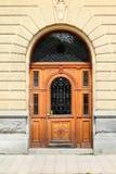 De deur van Stockholm stock afbeelding