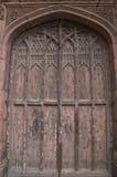 De deuren van de kathedraal stock afbeelding