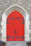 De Deuren van de kerk Royalty-vrije Stock Afbeeldingen