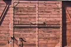 De deuren van de trein Stock Foto's