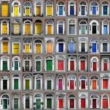 De deuren van Dublin Stock Foto