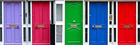 De deuren van Dublin Stock Afbeeldingen