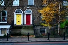 De deuren van Dublin. Ierland Royalty-vrije Stock Foto