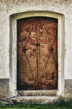 De deuren van Ghotic Stock Afbeeldingen