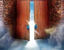 De deuren van hemel Stock Afbeelding