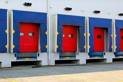 De deuren van het dok Stock Fotografie
