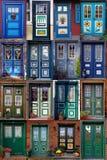 De deuren van het plattelandshuisje Royalty-vrije Stock Foto's