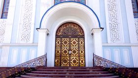 De deuren van de Orthodoxe Kerk Royalty-vrije Stock Foto