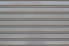 De deurtextuur van het blindstaal Stock Foto's