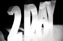De deux jours photos stock