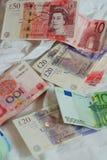 De devises étrangères Photographie stock libre de droits