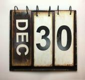 30 de dezembro imagens de stock royalty free