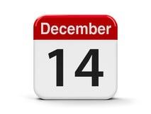 14 de dezembro Fotografia de Stock