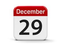 29 de dezembro Fotografia de Stock