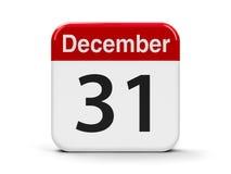 31 de dezembro Foto de Stock