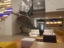 15 de dezembro de 2016 Kuala Lumpur O olhar interior de íbis do hotel denomina Sri Damansara Imagem de Stock