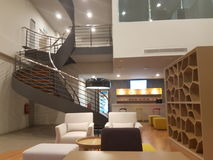 15 de dezembro de 2016 Kuala Lumpur O olhar interior de íbis do hotel denomina Sri Damansara Imagem de Stock Royalty Free