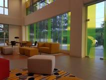 16 de dezembro de 2016 O design de interiores dos íbis denomina o hotel Kuala Lumpur Sr Damansara Foto de Stock