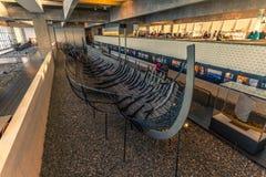 4 de dezembro de 2016: Tesouro de Viking Ship Museum de Roskild Fotografia de Stock