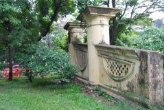 De Dhakapoort ook als de Poort van Mir Jumla ` s of Ramna-Poort wordt is een monument wordt verondersteld bekend om door Mir Juml royalty-vrije stock afbeeldingen