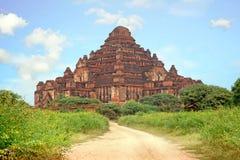 De Dhammayangyi-Tempel, oude pagode in het landschap van Bedelaars Royalty-vrije Stock Afbeeldingen