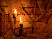 De Dia das Bruxas vida ainda Fotos de Stock